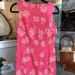 Lilly Pulitzer Pink & Yellow Floral Print Dress